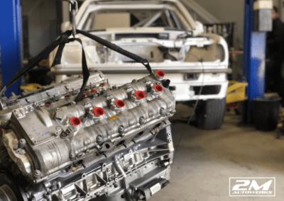 E30 S85 V10 Motor Swap