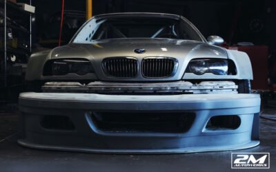 BMW E46 GTR build powered by a s85 v10 built at 2M Autowerks.