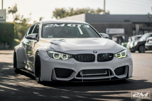 The third 2M Autowerks BMW F80 GT3 widebody built in San Diego, California.